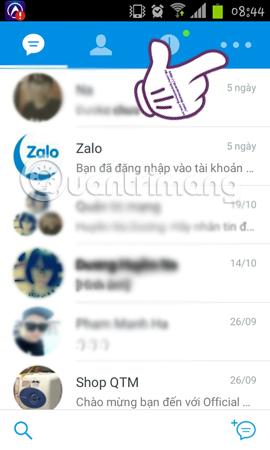 ẩn số điện thoại, ẩn thông tin cá nhân trên Zalo