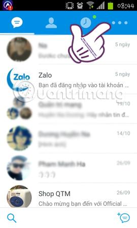 ẩn thông tin cá nhân trên Zalo