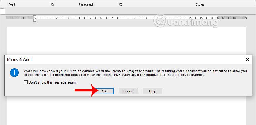 chèn PDF vào Word và PowerPoint