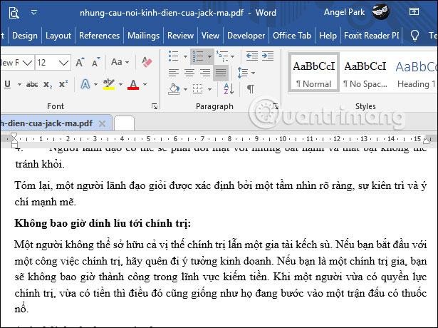 Chỉnh sửa PDF