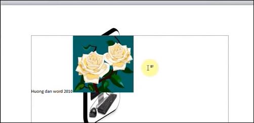 Cách chèn hình ảnh vào Word 2010