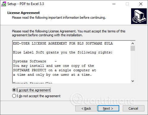 Phần mềm PDF to ExcelConverter