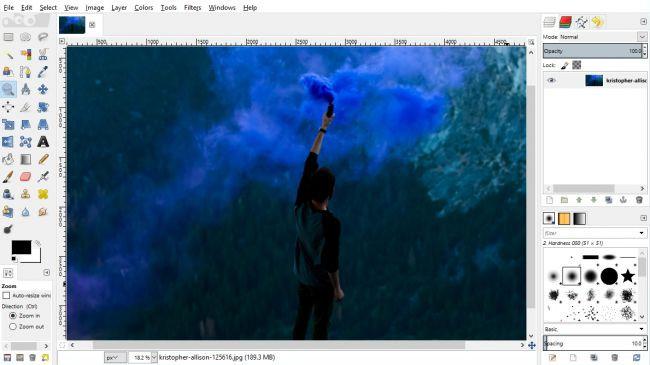 Phần mềm chỉnh sửa ảnh GIMP