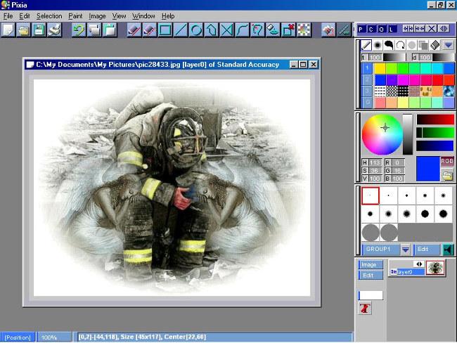 Phần mềm chỉnh sửa ảnh Pixia