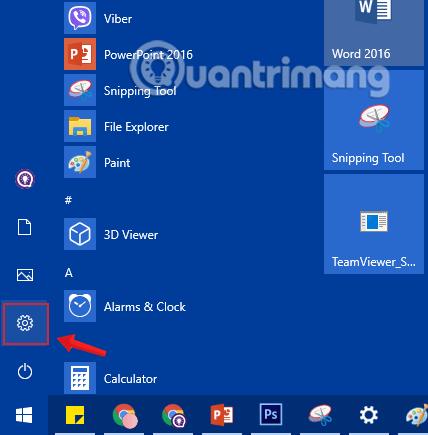 sửa lỗi Start menu Windows 10