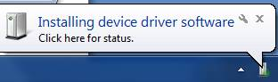 Driver của thiết bị Bluetooth hiện đang được cài đặt