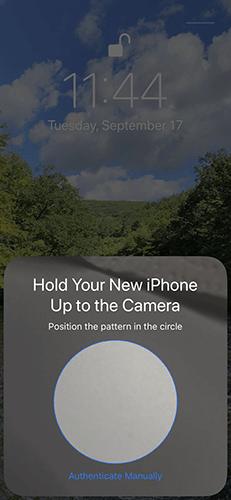 iPhone mới hiện dạng mã hóa riêng của Apple, tương tự như QR code