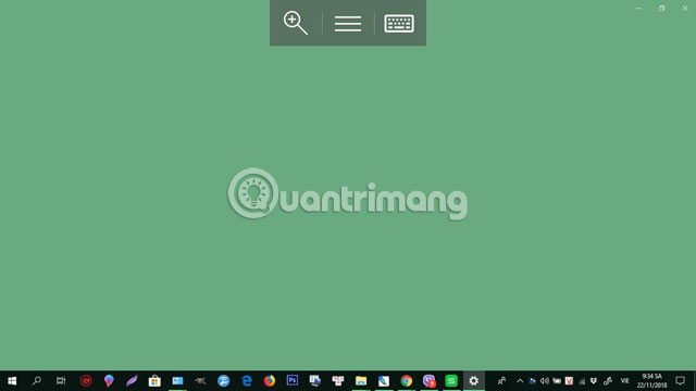 Giao diện PC đang kết nối