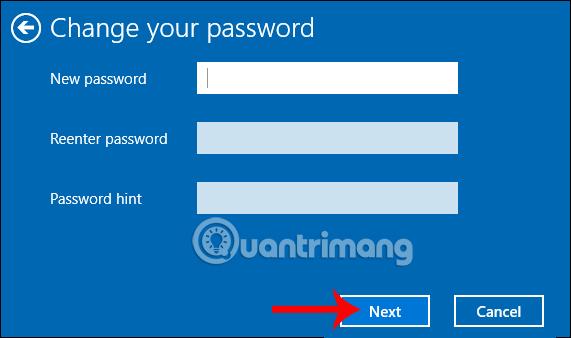 Đặt mật khẩu cho Windows 10