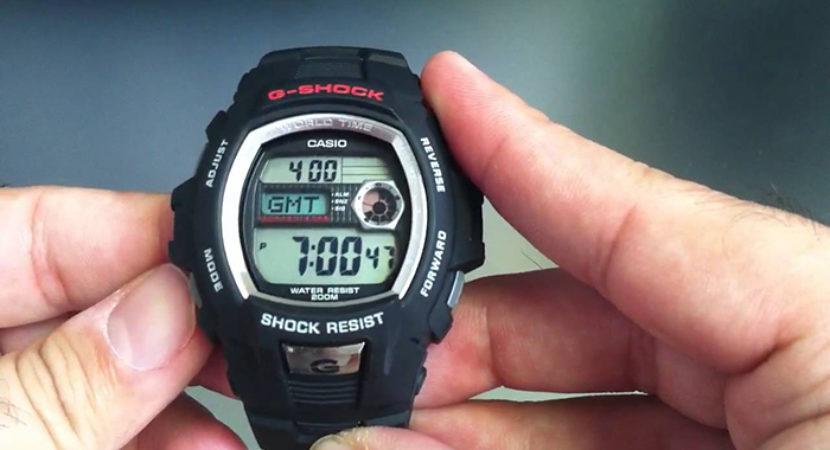 cách chỉnh giờ đồng hồ casio 4 nút