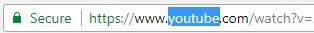 Link video YouTube bị chặn