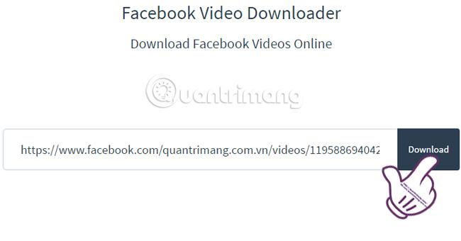 Tải Video Facebook về máy tính nhanh nhất