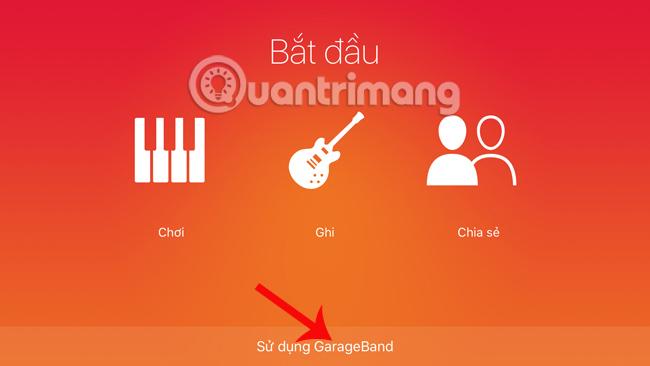 Tạo nhạc chuông iPhone bằng GarageBand