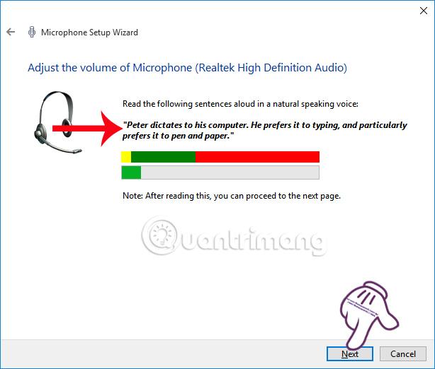 Cài đặt Microphone trên Windows 10