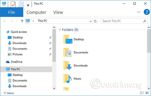 Đổi cỡ chữ menu trong Windows Explorer