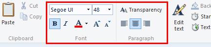 Cửa sổ chỉnh sửa văn bản