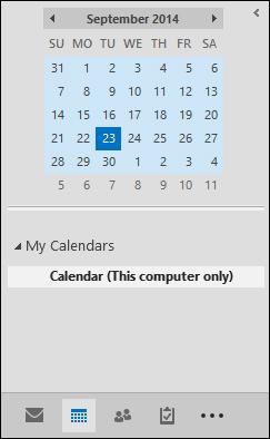 Thư mục cho Calendar