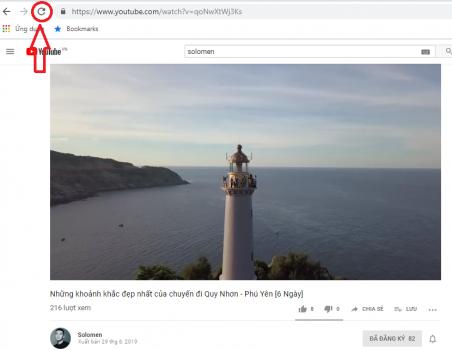 lỗi không xem được Youtube