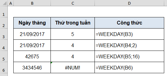 ham weekday